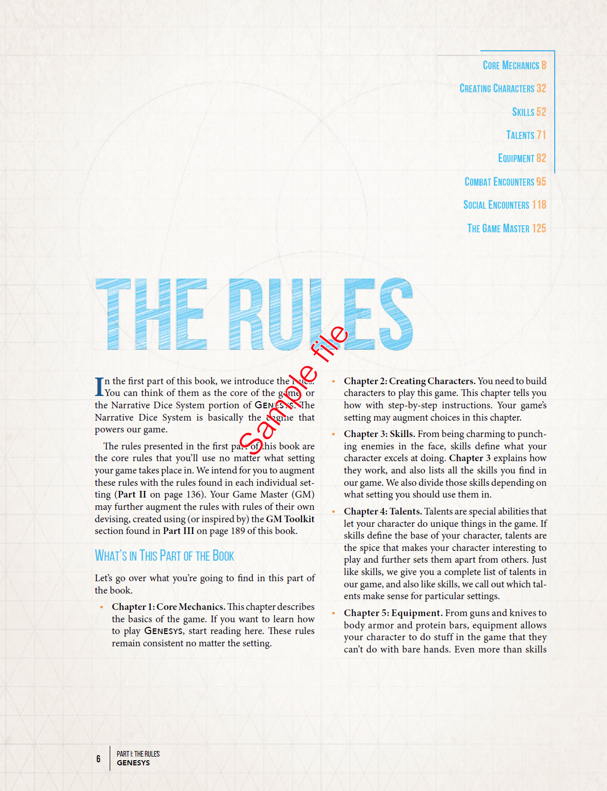Section-Specific Table of Contents and Navigation | denagh design